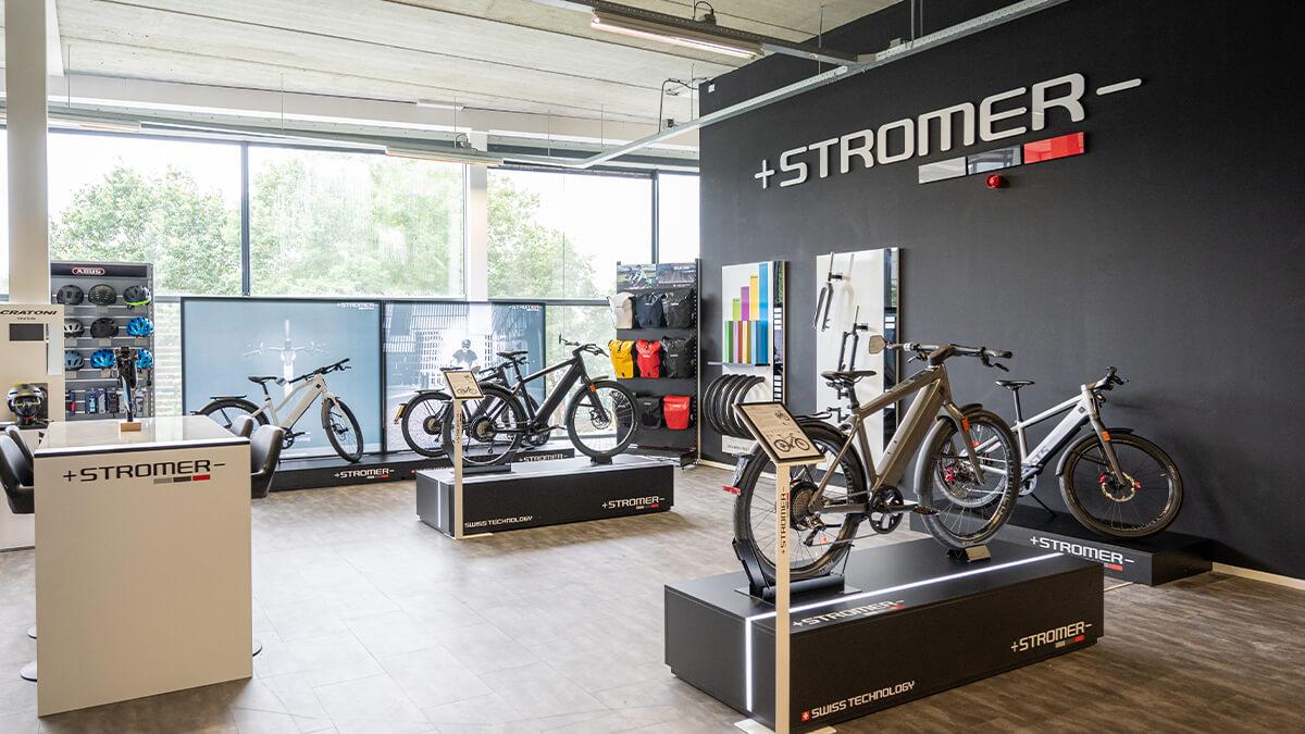 Stromer Speed Pedelecs in E-bike Megastore Utrecht