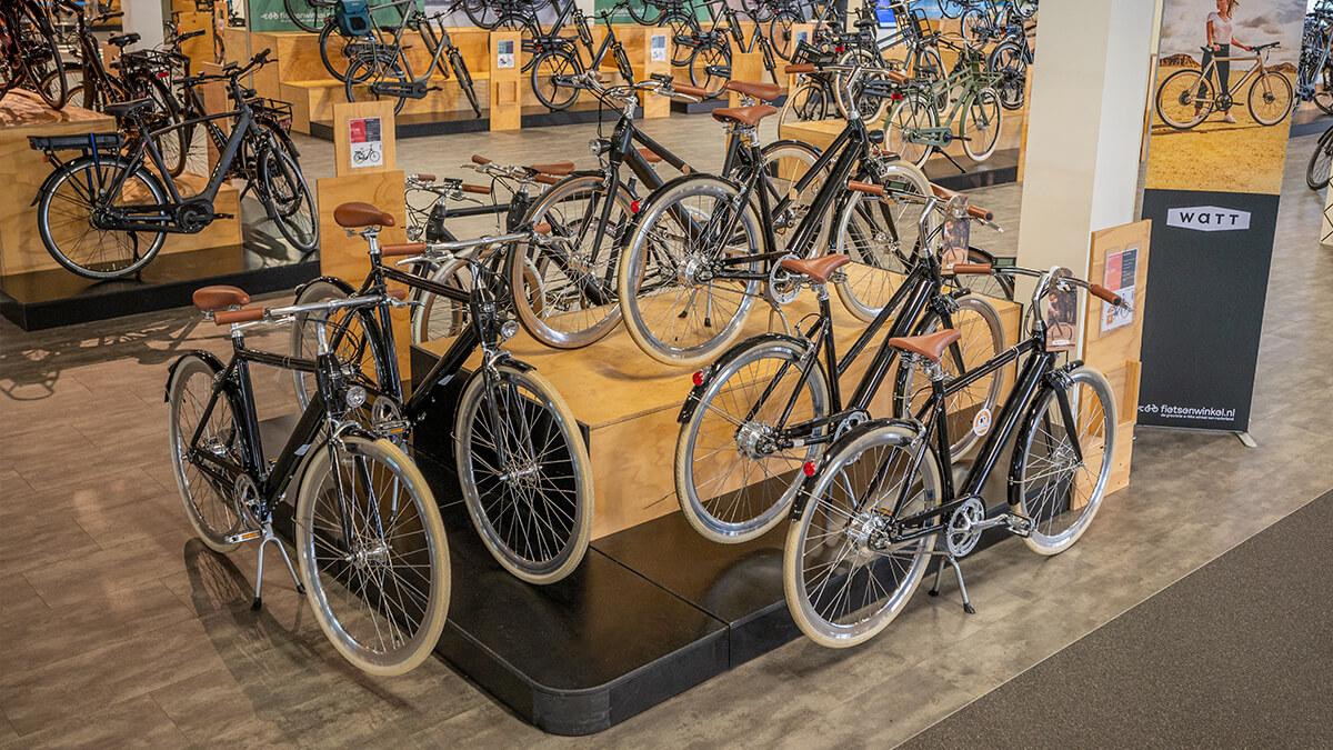 Watt elektrische fietsen in E-bike Megastore Utrecht