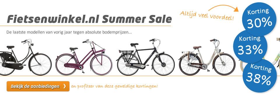 Summer Sale bij Fietsenwinkel.nl!