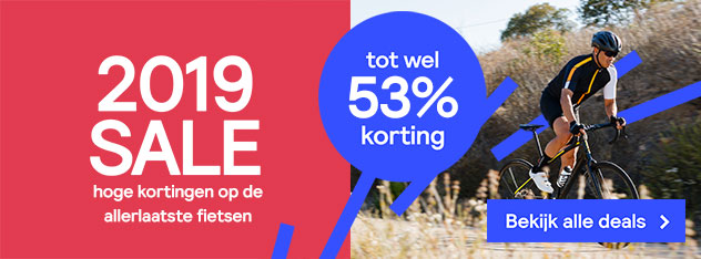 2019 Sale bij Fietsenwinkel.nl