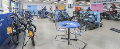 Bezoek een e-bike winkel