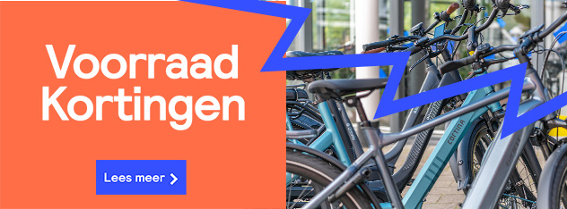 Voorraad Kortingen bij Fietsenwinkel.nl