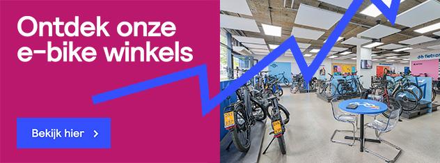 Ontdek onze e-bike winkels