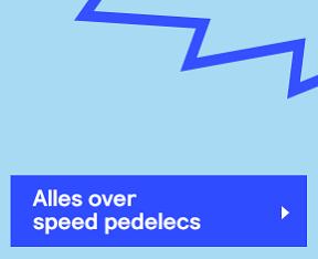 Speed pedelec wetgeving
