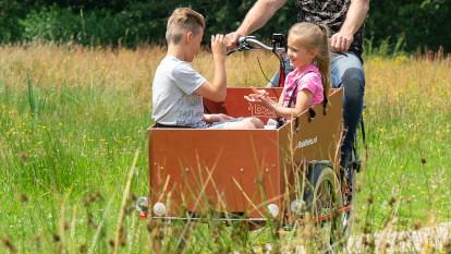 Met gemak de kinderen voorin je elektrische bakfiets